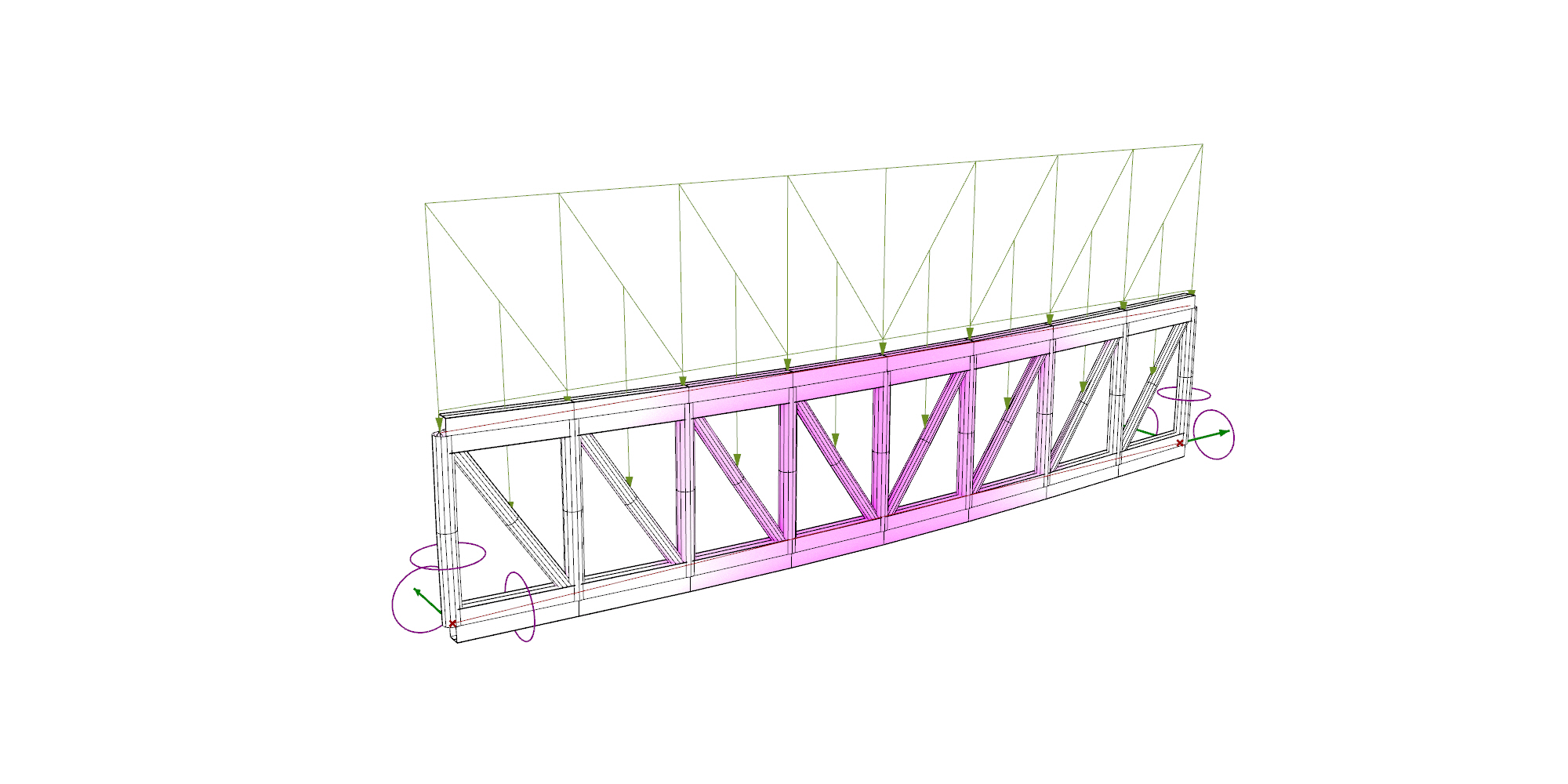 Simple Parametric Truss