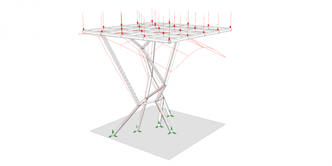 Optimization of an Irregular Structure