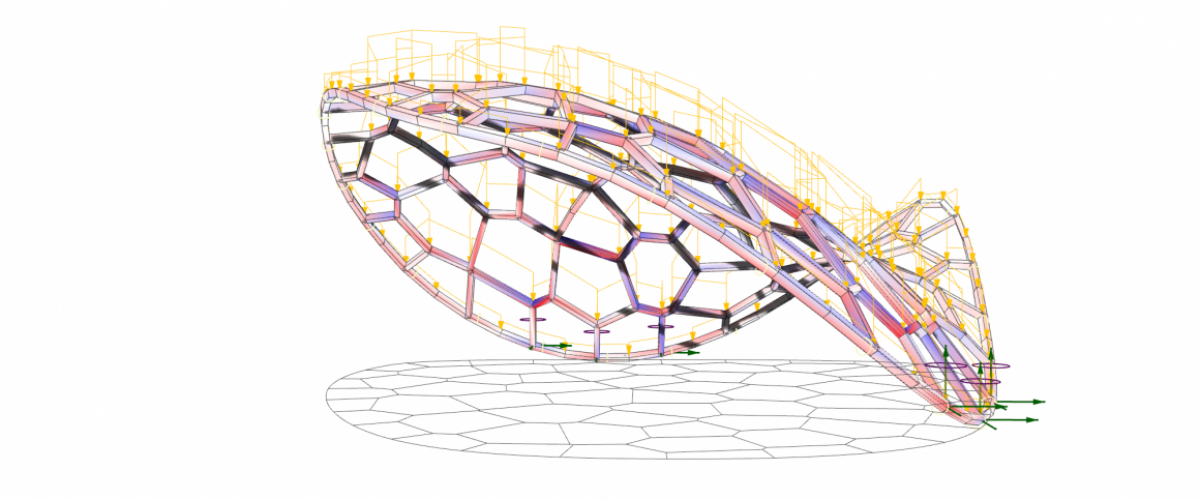 05_ProjectedVoronoiPatternGridshell