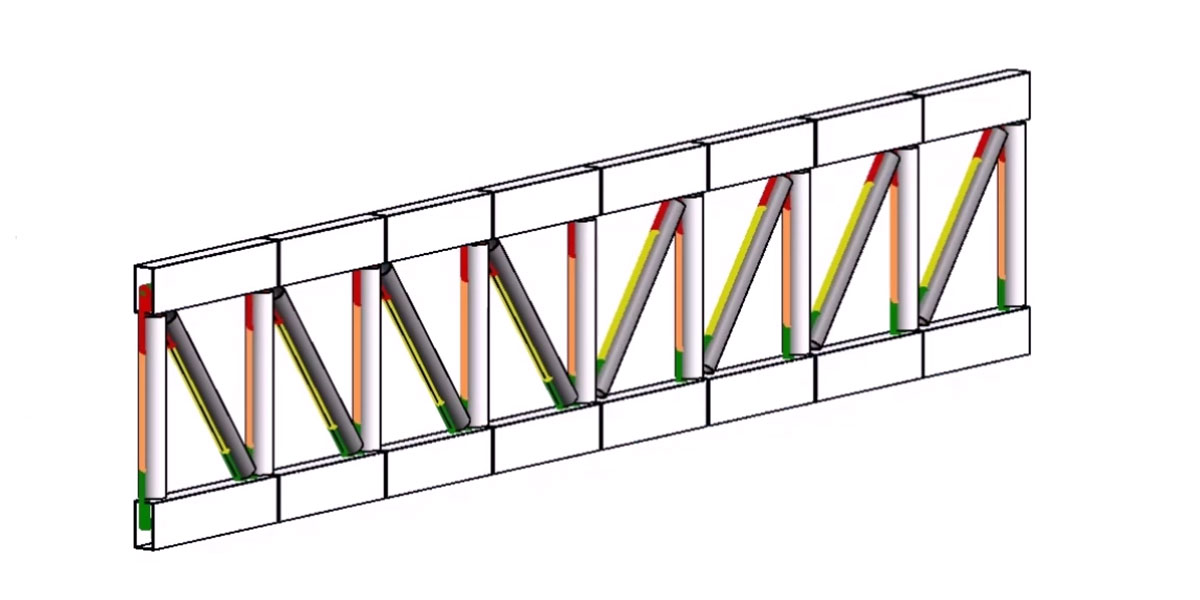 Export a Simple Parametric Truss to Revit with Rhynamo