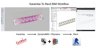 Single Truss – Karamba to Revit using DynamoBIM