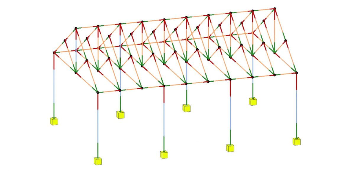Import a Gable Truss Structure from Revit