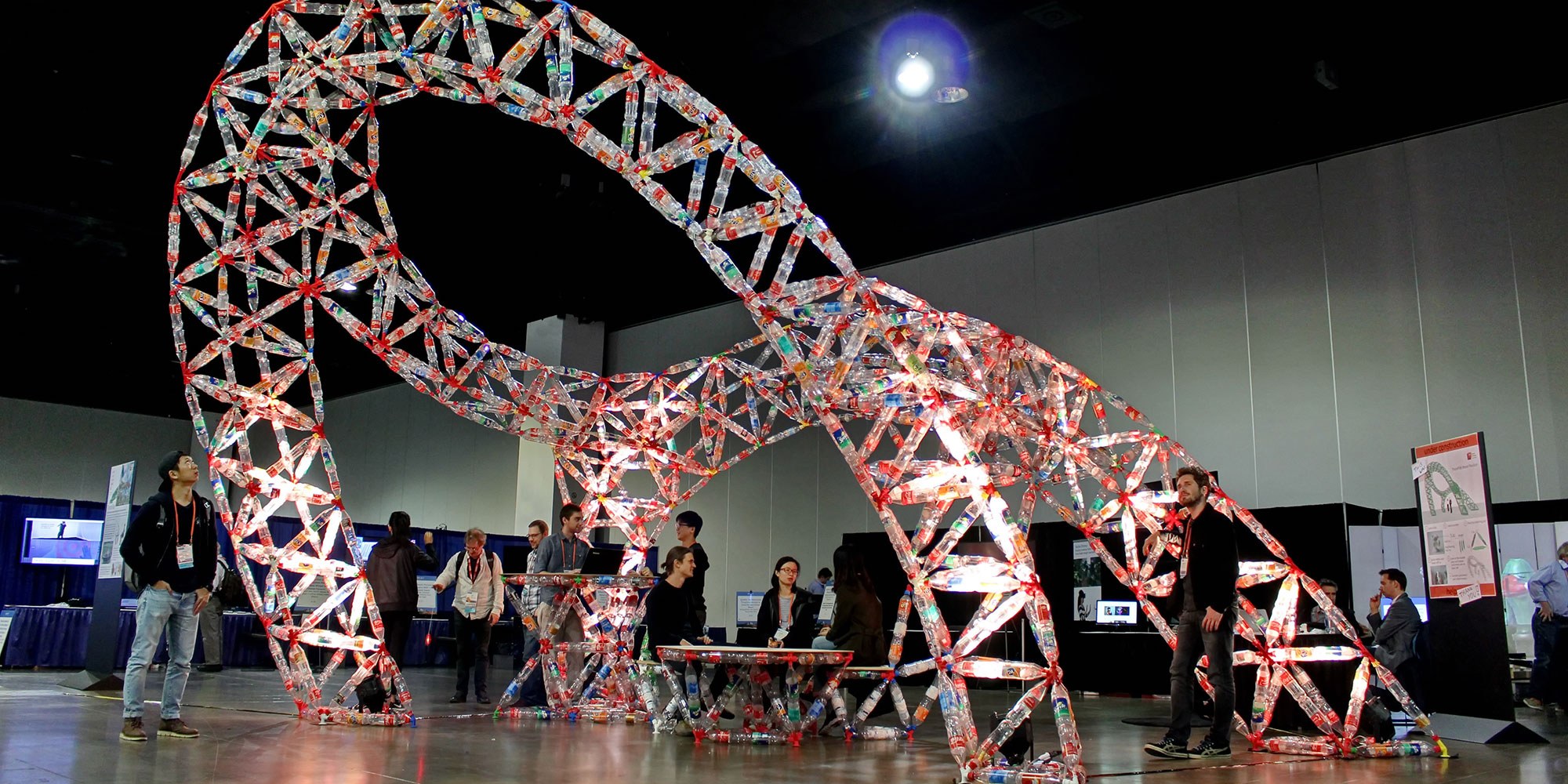 Karamba3d Parametric Engineering Dome Light Wiring Diagram Vw Bug Trussfab Pavilion