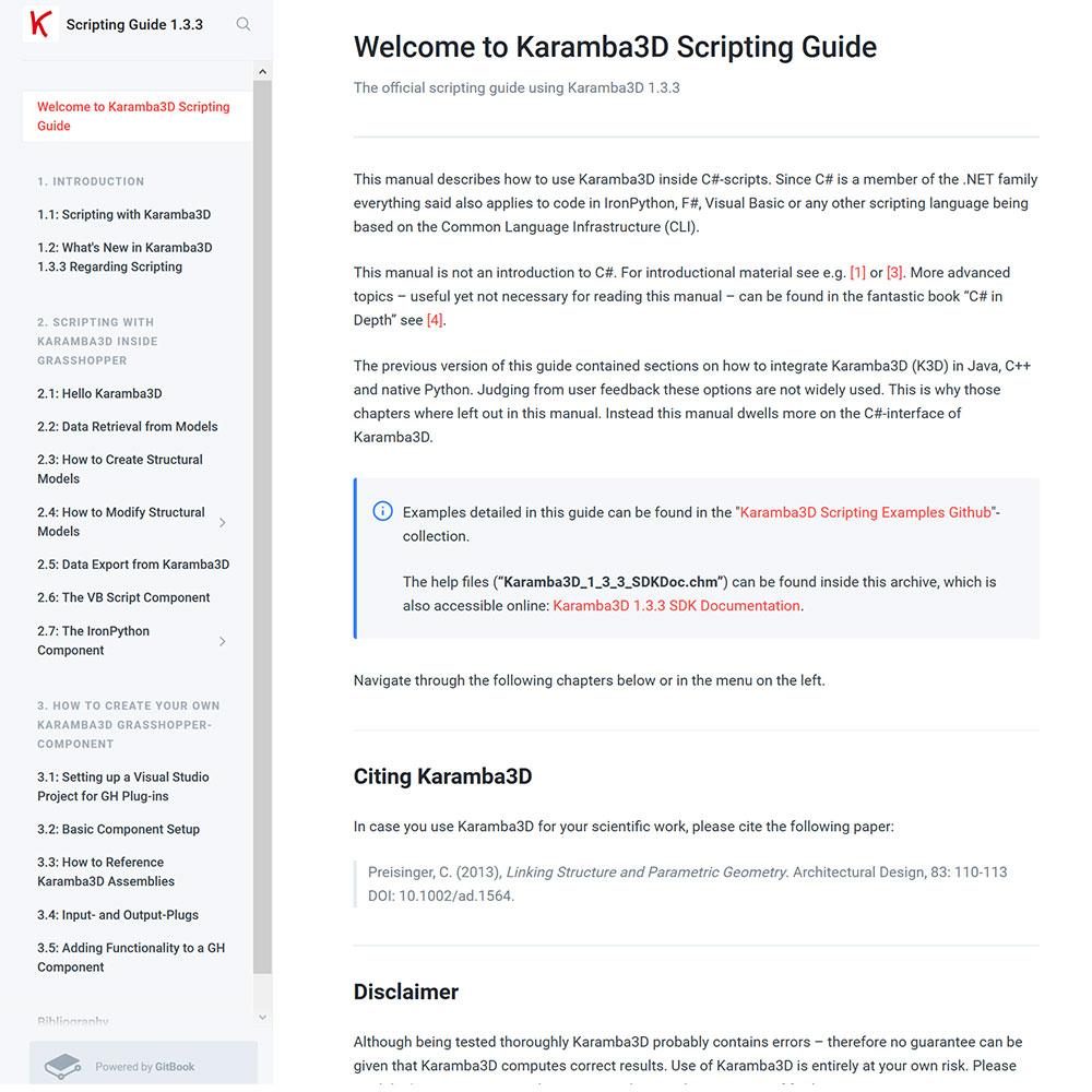 Scripting with Karamba3D